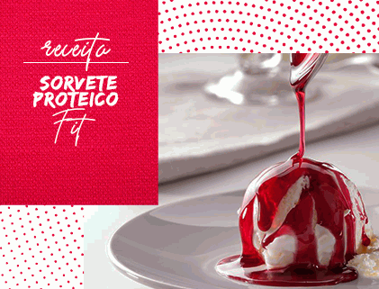 SORVETE PROTEICO FIT