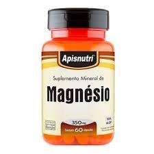 Magnésio 350mg (60 caps)