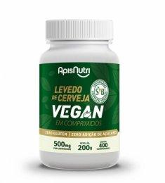 Levedo de Cerveja Vegan 500mg (400 comprimidos)